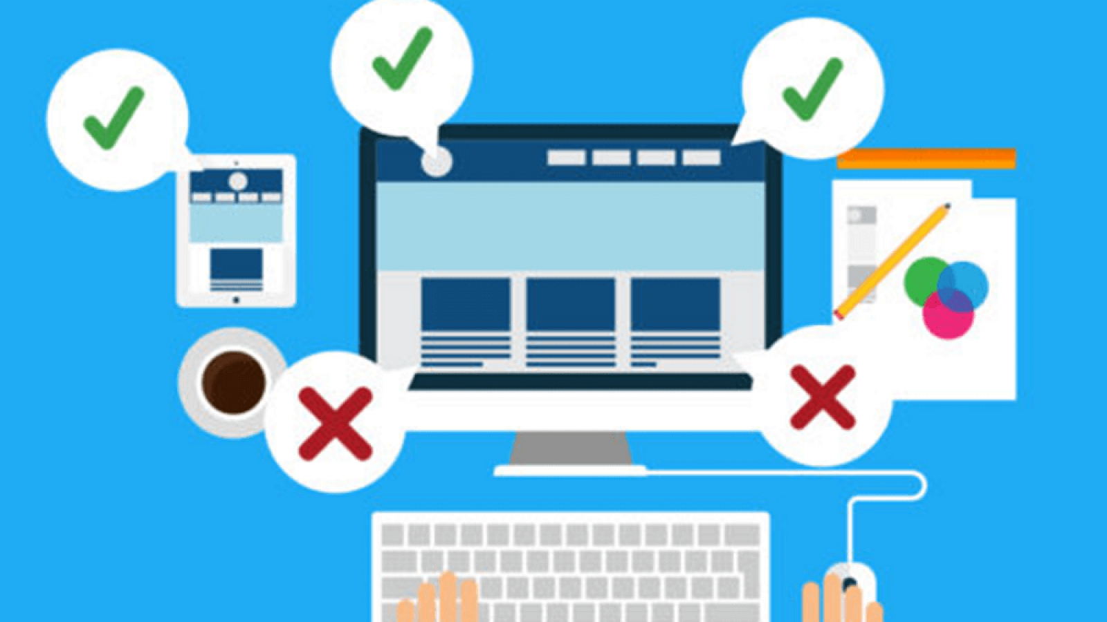 errors in web design