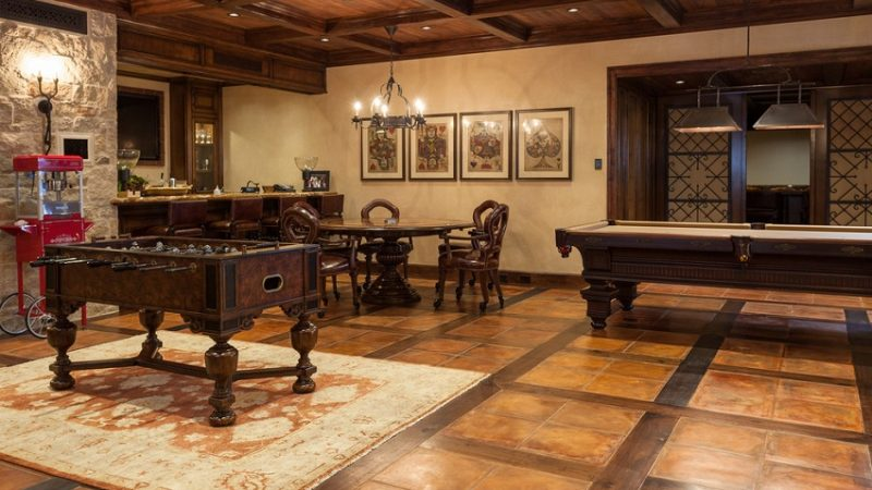 Wood Floor Designfor game room