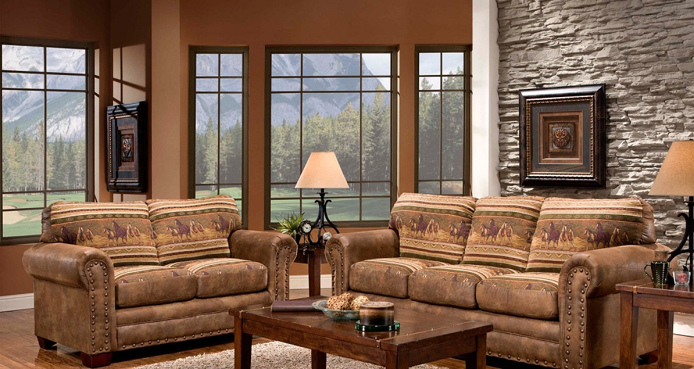 Mood Setting Western Furniture It's Time To Kick Back Country Style!