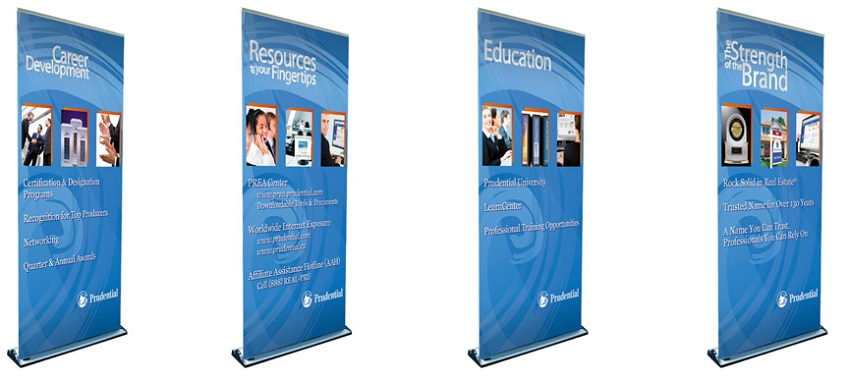 Advantages Of Pull Up Banners For Exhibiting