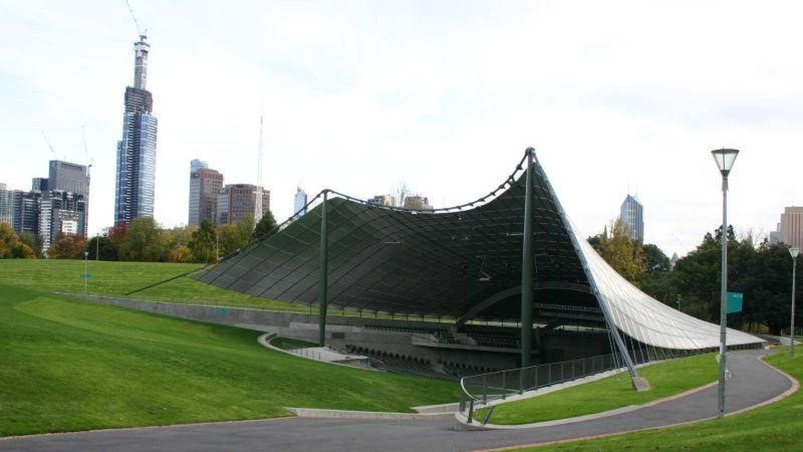 Tensile Structures and The ones Most Commonly Found