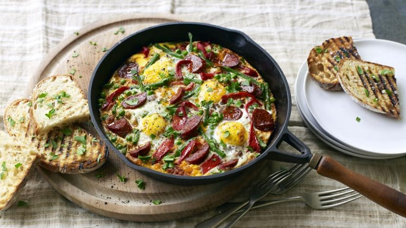 easy recipes with egg