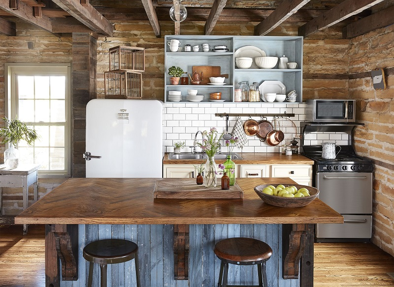 6 simple ideas for decorating rustic kitchens