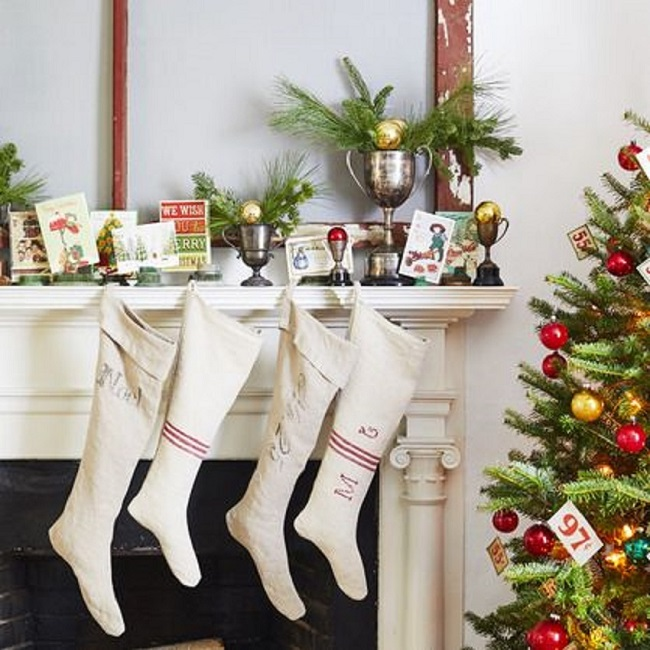 How to Display Your Christmas Goodies