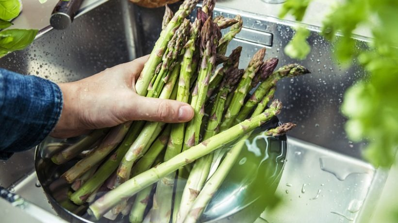 How to freeze asparagus?
