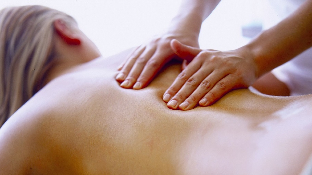 Massaging 9 points on the body