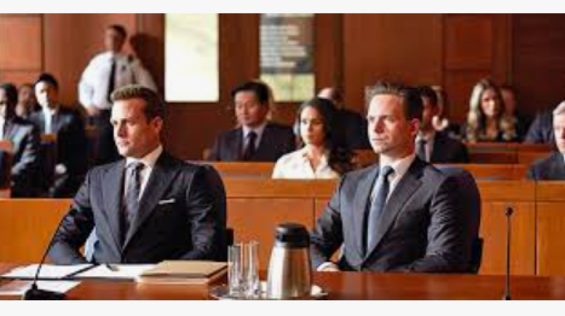 The stylings of the lawyers in Suits